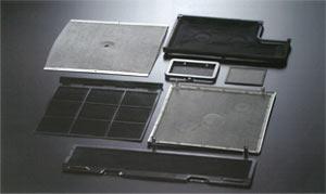 Fan heater filter
