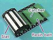 Resin belt assembly